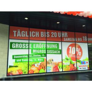 Fenster Reklame
