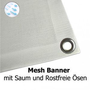Mesh Banner Ösen