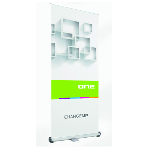 Roll-Up Change-Up Banner