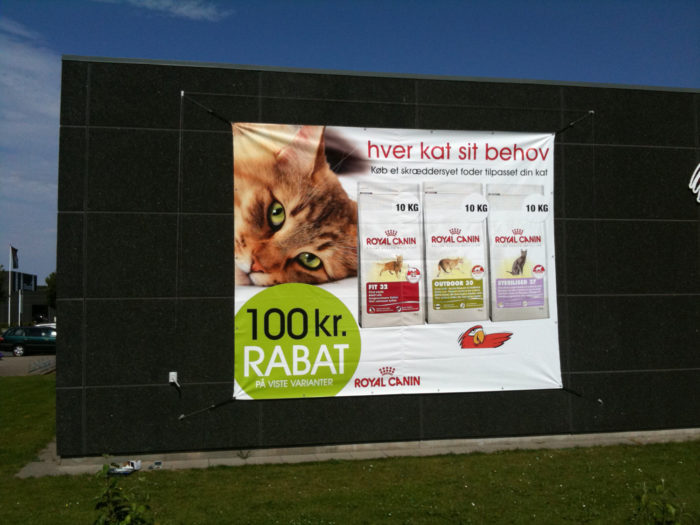Spider Banner System für Outdoor in Basel