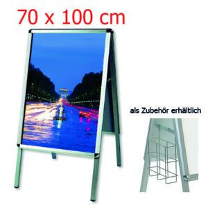 Kundenstopper 70x100 cm