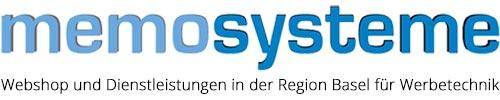 Memosysteme GmbH - Werbetechnik und Beschriftungen in Basel und der Schweiz